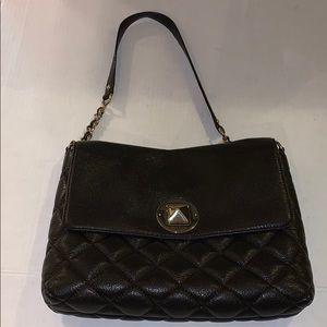 Kate spade leather quilted shoulder purse bag